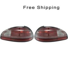 Tail Lamp Lens and Housing Set of 2 Pair LH & RH Side Fits Pontiac Grand Prix
