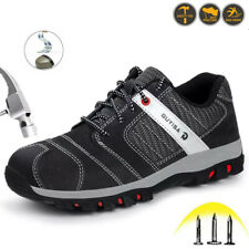 Mens Safety Shoes Steel Toe Cap Work Trainers Womens Comfortable Hiking Boots UK