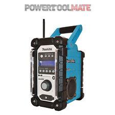 Makita DMR104 DMR104 Blue DAB Jobsite Radio 18v - 240v  BMR104