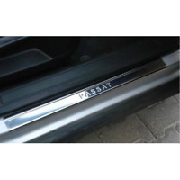 VW PASSAT B8 Chrome Door Sill Protector Cover 2015 Onwards Stainless Steel 4 pcs