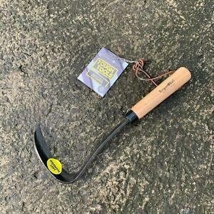 Burgon & Ball Left Handed Japanese Razor Hoe - Garden, Allotment, Tool