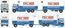 TEKNO 71415 MACK F 700 ENSEMBLE FRIGO CAMION + REMORQUE STIES FRIONOR MINT BOX