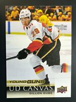 2018-19 Dillon Dube Young Guns Canvas Rookie
