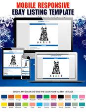eBay HTML Auction Template in Premium Responsive Theme Design for eBay Sellers