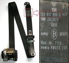 VW Passat Estate Seat Belt Right Side Rear B5.5 2000 to 2005 3B9 857 806 D