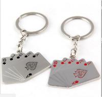 Men Metal Car Key Chain Ring Creative Keyring Keychain Keyfob DIY Gift Silver