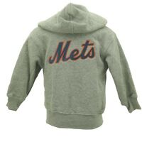 New York Mets Girls Baby MLB Infant Toddler Size Zip Up Hooded Sweatshirt New