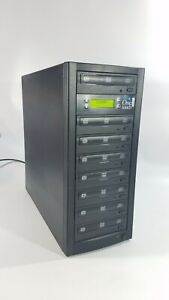 One Touch 7 Copy DVD / CD Duplicator Burner Copier Works. Church Owned.