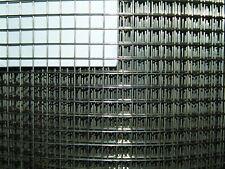 Volierendraht aus Edelstahl V2A 1x1m / 9,5 x 9,5mm / 0,8mm  Drahtgitter