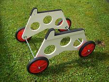 Startwagen für Elektrosegler, hochwertige Räder 185 mm, Felge rot, NEU !