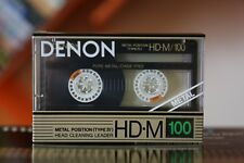 DENON HD-M 100 (1988) Pure METAL / TYPE IV AUDIO CASSETTE