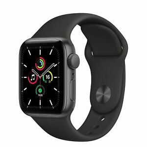 NEW APPLE Watch Series 6 32GB Space Grey Aluminium Black & Sports Band 40MM GPS