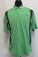 Men's Green Ping Golf Polo Shirt Size L NO84