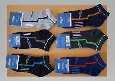 6 Paar Herren Sneaker-Socken 90% Baumwolle - Gr.39/42 WOW