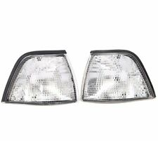 2x Front Corner Turn Signal Clear lamp Light for BMW 3 91-98 E36 2-Door 2DR