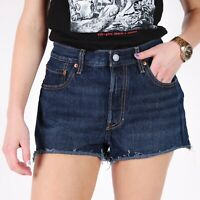 Levi's Blau Denim Damen Shorts DE 38 / US W30