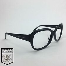 FRENCH CONNECTION eyeglass BLACK frame OVAL Authentic. MOD: 30265783
