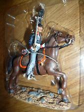 soldat de plomb del prado CAVALIER  Prusse 1810 officier Uhlan Escadron garde
