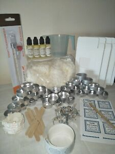 Candle tealights making kit choose your fragrance oils candle supplies soy wax