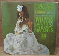 Whipped Cream & Other Delights (LP110 SP4110) A&M Records Vinyl Album **READ**