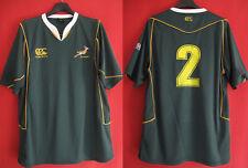 Maillot rugby Afrique du Sud Canterbury #2 Springboks Vintage - L