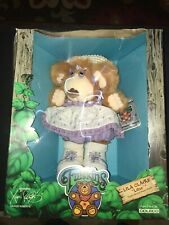 """Vintage Cabbage Patch Kids Furskins  Lila Claire """"Lilac"""" In Box"""