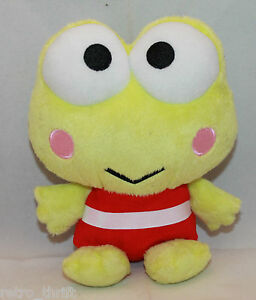 "Sanrio Japan Kero Kero Keroppi Plush Toy 18cm 7 1/8"" Claw Game UFO Catcher Cute"
