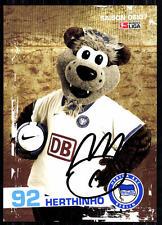 Herthinho Hertha BSC Berlin 2006-07 Autogrammkarte Original Signiert + A 82561