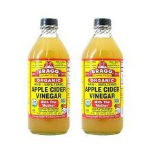 2 x Bragg Organic Apple Cider Vinegar 473ml - Bragg