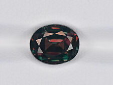GUBELIN Certified BRAZIL Alexandrite 4.06 Cts Natural Untreated Oval