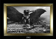 Magnet Movie Monster Photo Magnet Ghidrah the 3 Headed Monster 1965