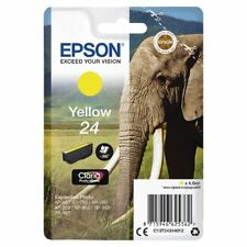 Epson 24 Yellow Inkjet Cartridge C13T24244012, Print yield: 360 pages [EP62536]