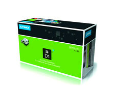 NASTRO DYMO D1  24 mm X 7mt NERO/BLU cod. S0720960/537160/537160