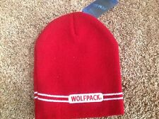 North Carolina State Wolfpack Officially Licensed NCAA Beanie Hat-BNWT's
