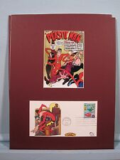 DC Comic Book  Hero Plastic Man & First Day Cover