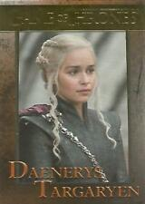 "Game of Thrones Season 7 - #25 ""Daenerys"" Gold Parallel Base Card #149/150"