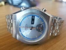 SEIKO 6139-8020  Automatic Chronograph Silver Dial Rare 70s Japan Good Condition
