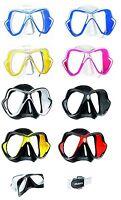 Mares X-Vision Líquido Piel Máscara de Buceo Div. Colores