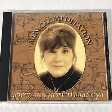 Musical Meditations Joyce Ann Hope Terranova CD 2000