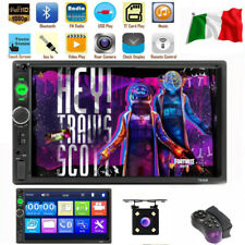 """7 """"2 DIN Autoradio Player Touch Screen Stereo MP5 MP3 Media Bluetooth USB FM IF"""