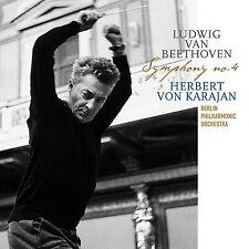 Herbert Von Karajan BEETHOVEN SYMPHONY NO. 4 180g NEW SEALED Vinyl Passion LP