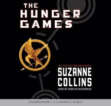 THE HUNGER GAMES SUZANNE COLLINS AUDIO BOOK 9 CDS
