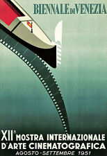 Art Ad Biennale di Venezia Venice Cinema   Poster Print
