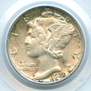 1925-D Mercury Dime, PCGS AU55