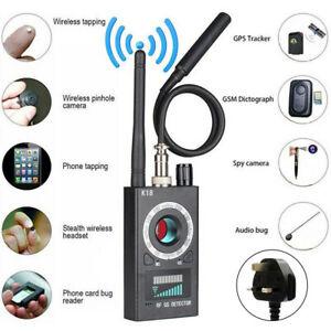 RF Signal Bug Anti-Spy Hidden Camera Detector GSM GPS Finder Tracker Scanner UK