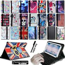 """Leather Stand Cover Case + Micro USB Keyboard For Various 8"""" Acer Iconia Tablet"""