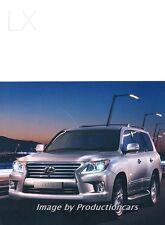 2015 Lexus LX LX570 40-page Australia Car Sales Brochure Catalog