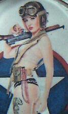 Shure Shot Rat Rod STEERING WHEEL SPINNER KNOB Hot PIN UP SUICIDE Girl