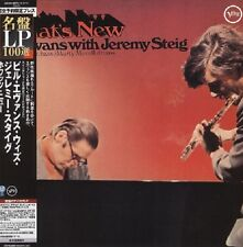 Bill Evans & Jeremy Steig, What's New. 200 Gram Limited Edition LP. New & Sealed