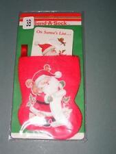 1990 Send a Sock Greeting Card w/ Envelope